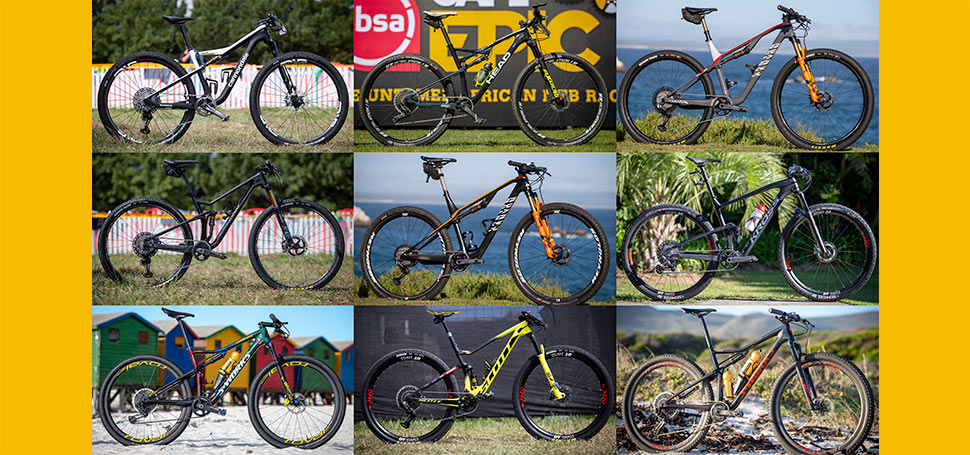 Cape Epic - elitní bikecheck