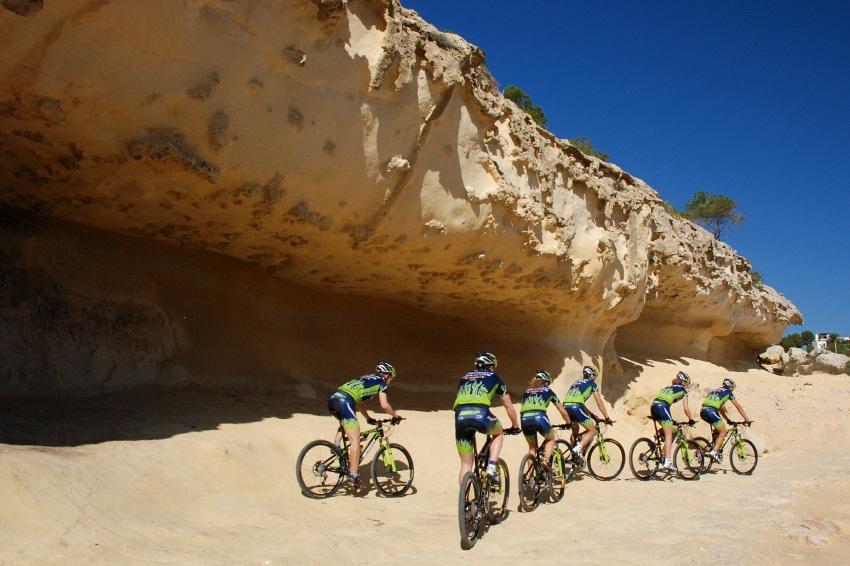 Merida Camp 2008, Mallorca - Merida Multivan Team