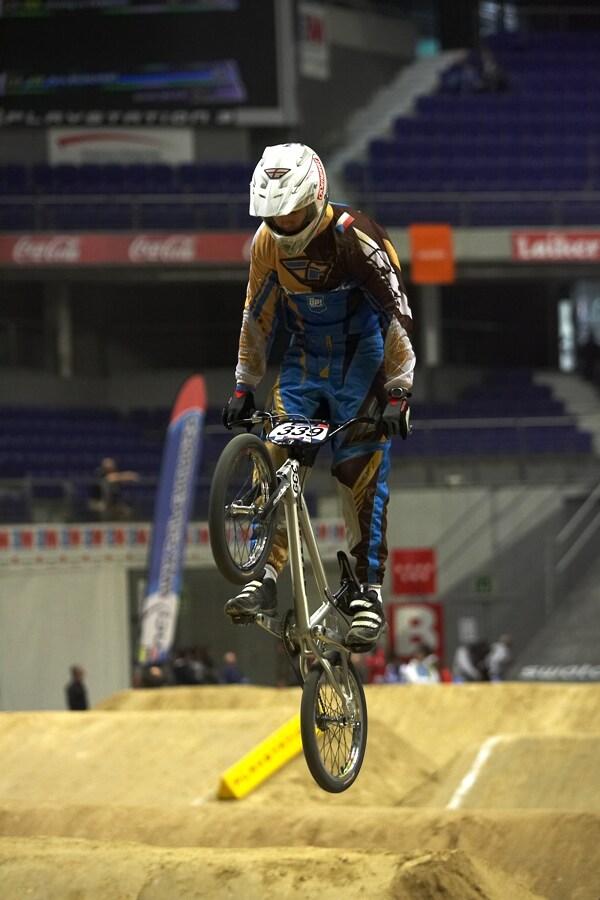 UCI BMX Supercross - Madrid 9.2. 2008 - Petr Mühlhans