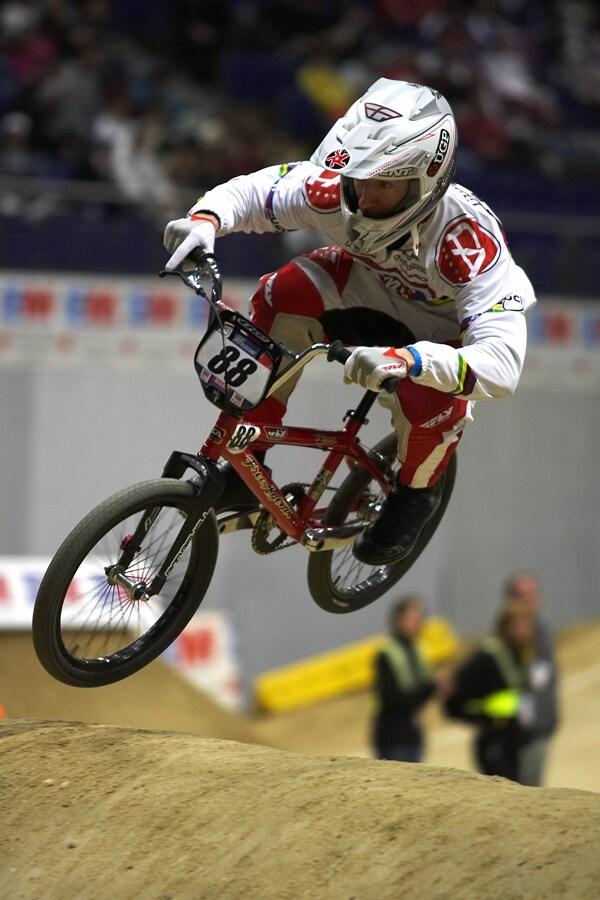 UCI BMX Supercross - Madrid 9.2. 2008 - Kyle Bennet (USA)