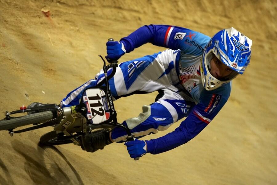 UCI BMX Supercross - Madrid 9.2. 2008 - Tomáš Slavík