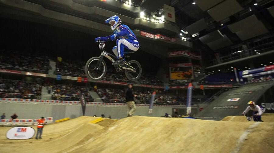 UCI BMX Supercross - Madrid 9.2. 2008 - Tom� Slav�k (GT)