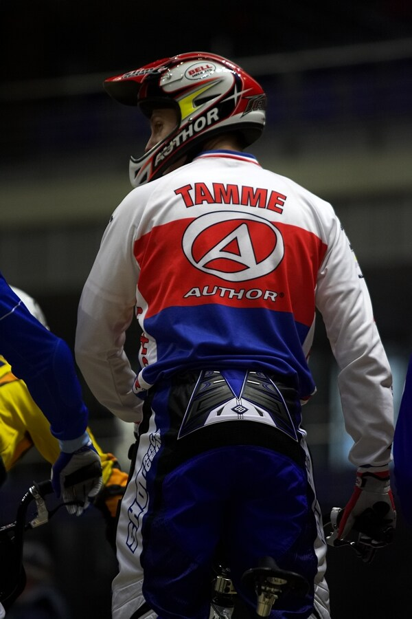 UCI BMX Supercross - Madrid 9.2. 2008 - Lukáš Tamme (Author)