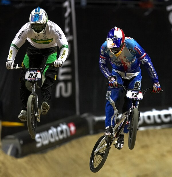 UCI BMX Supercross - Madrid 9.2. 2008 - Michal Prokop (Author)