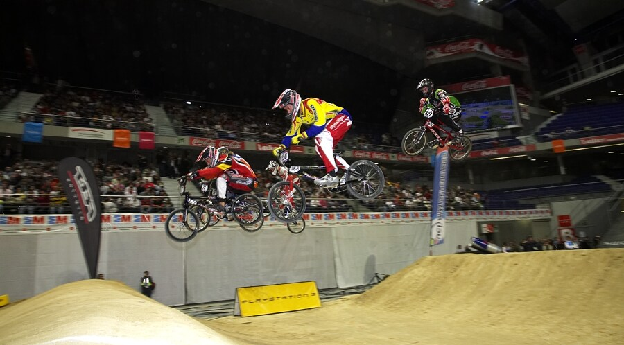 UCI BMX Supercross - Madrid 9.2. 2008