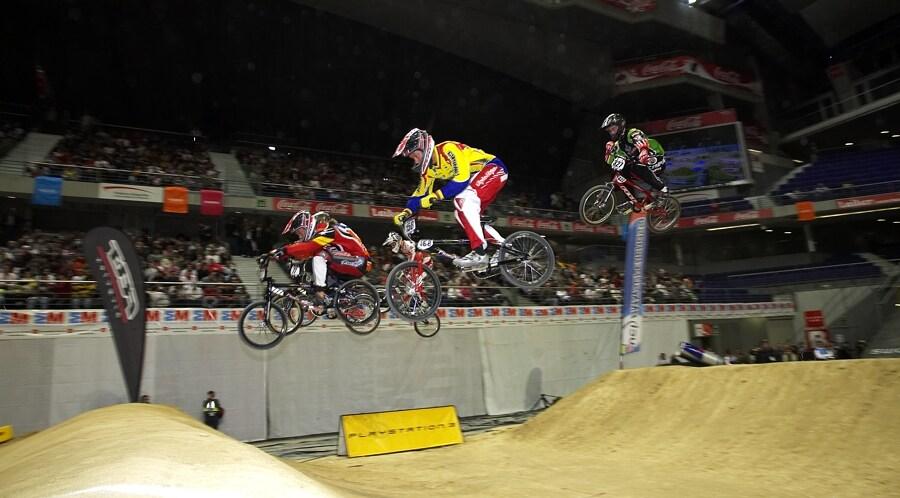 UCI BMX Supercross - Madrid 9.2. 2008