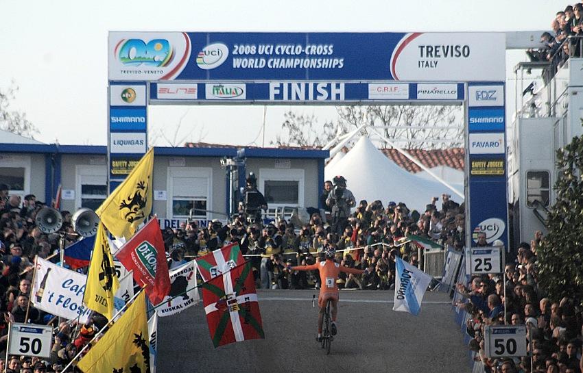 MS CX 2008 Treviso - Lars Boom mistrem světa!