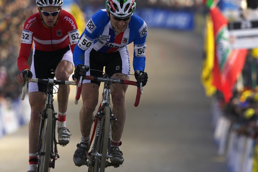 MS cyklokros 2008, Treviso - Itálie 27.1. - Kamil Ausbuher