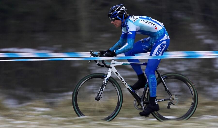 Mistrovství ČR cyklokros, Mnichovo Hradiště 5.1. 2008 - Zdeněk Štybar