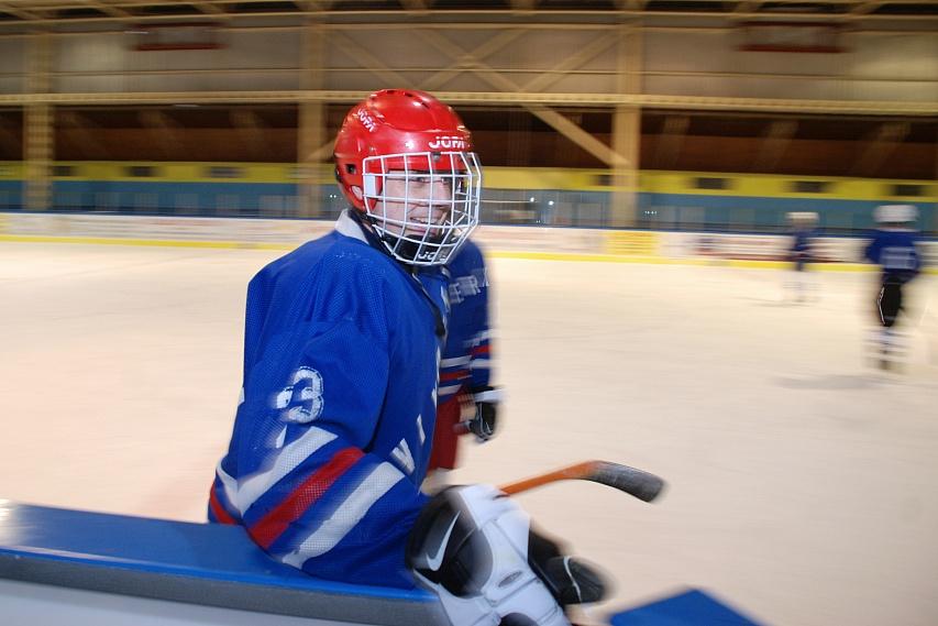 Hokejový turnaj ve Vimperku 9/12/07 - Jiří Lutovský