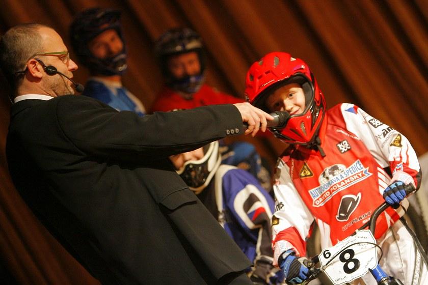 Král cyklistiky - Kongresové centrum Praha, 7.12. 2007 - ukázka BMX