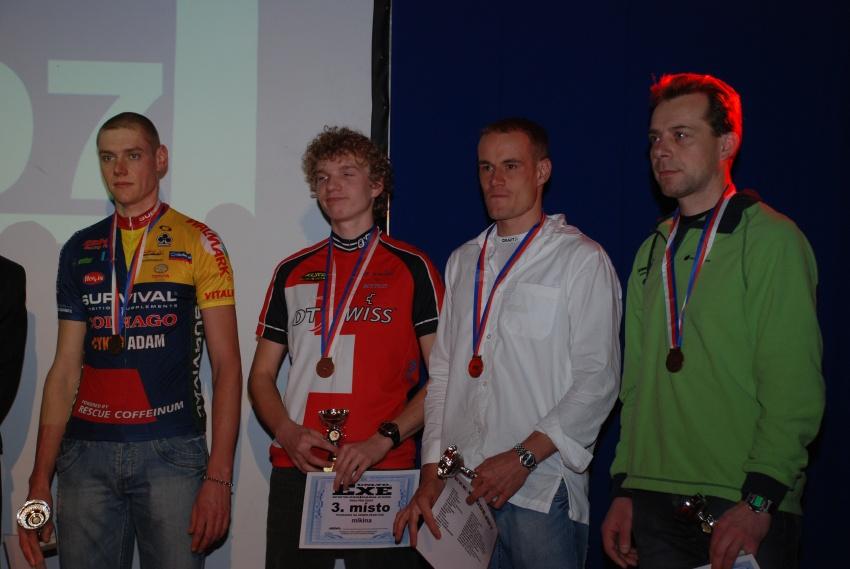 Finálový večer KPŽ - 3. místa Prestige Trophy