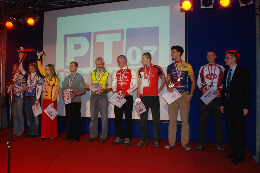Finálový večer KPŽ - 2. místa Prestige Trophy