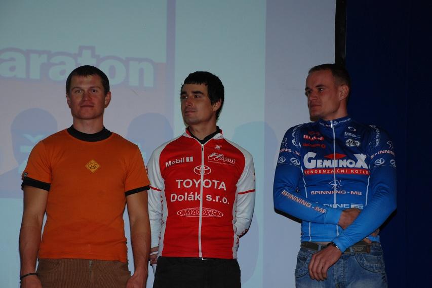 Fin�lov� ve�er KP� - Ivan Ryba��k (3.), Ond�ej Fojt�k (2.) a V�clav Je�ek (1.)