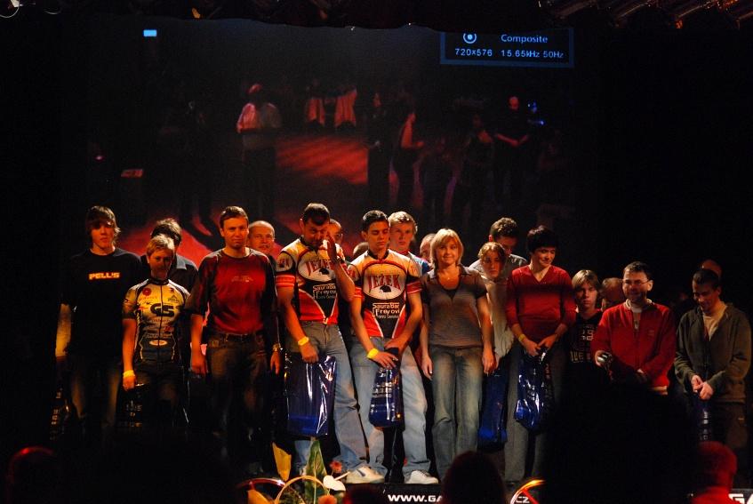 vyhlášení Galaxy série 2007 - účastníci všch 9 závodů