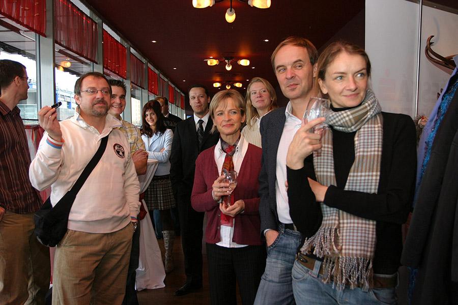 Kolo pro život- Finálová hra, 12.11. 2007 - Markéta Navrátilová, dvorní fotografka seriálu Kolo pro život