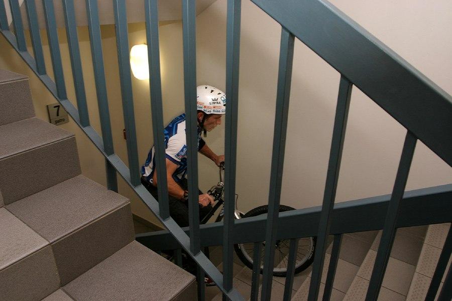 Kolo pro život- Finálová hra, 12.11. 2007 - Josef se dere nahoru