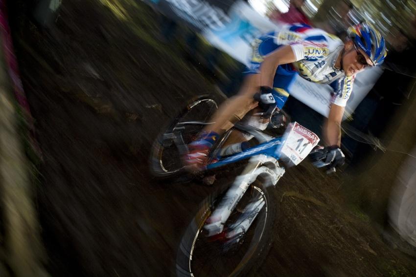 SP XC #1 2008 Houffalize - Katka Nash Hanu�ov�