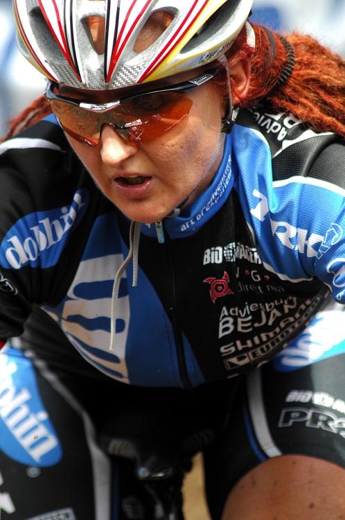 SP XC #1 2008 Houffalize - Katrin Schwing