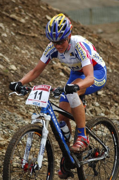 SP XC #1 2008 Houffalize - Katka Nash Hanušová