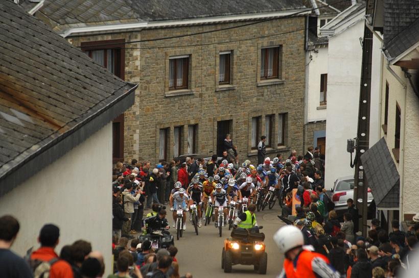SP XC #1 2008 Houffalize - start mužů