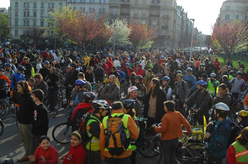 Pra�sk� jarn� cykloj�zda 2008 - zapl��n� n�m�st� Ji��ho z Pod�brad