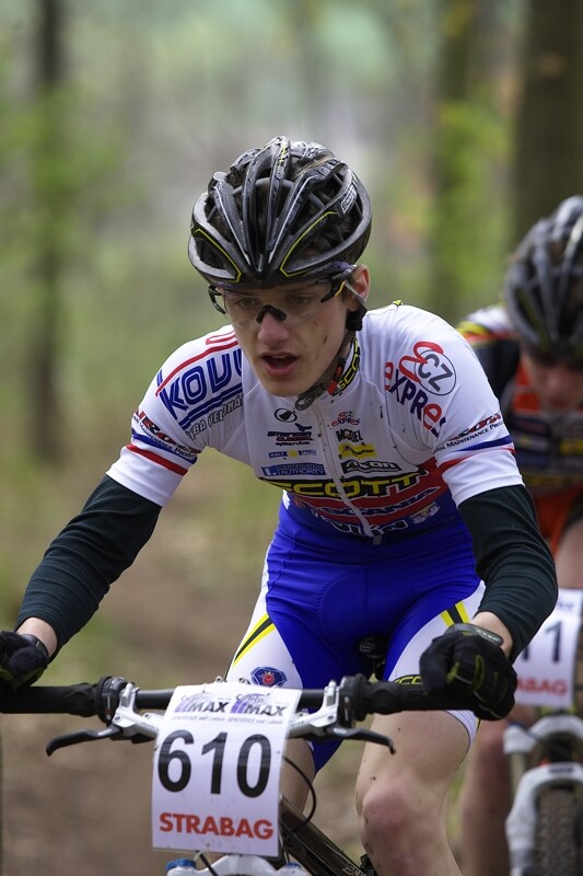 �P XC #1 Pardubice 2008 - kadet Tom� Paprstka