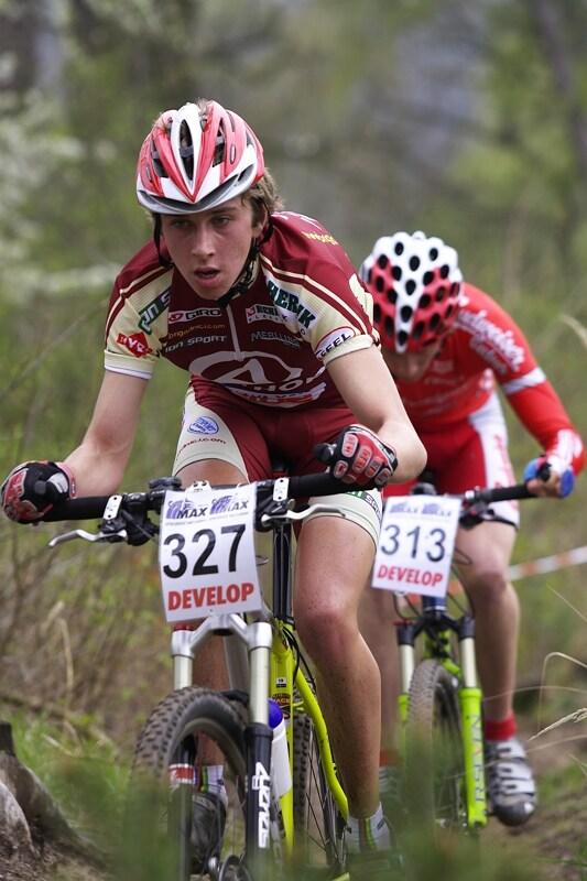 ČP XC #1 Pardubice 2008 - Ondřej Cink zpočátku vedl závod