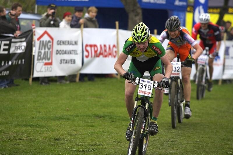 ČP XC #1 Pardubice 2008 - Nesvadba si dosprintoval pro stříbro před Rajchartem