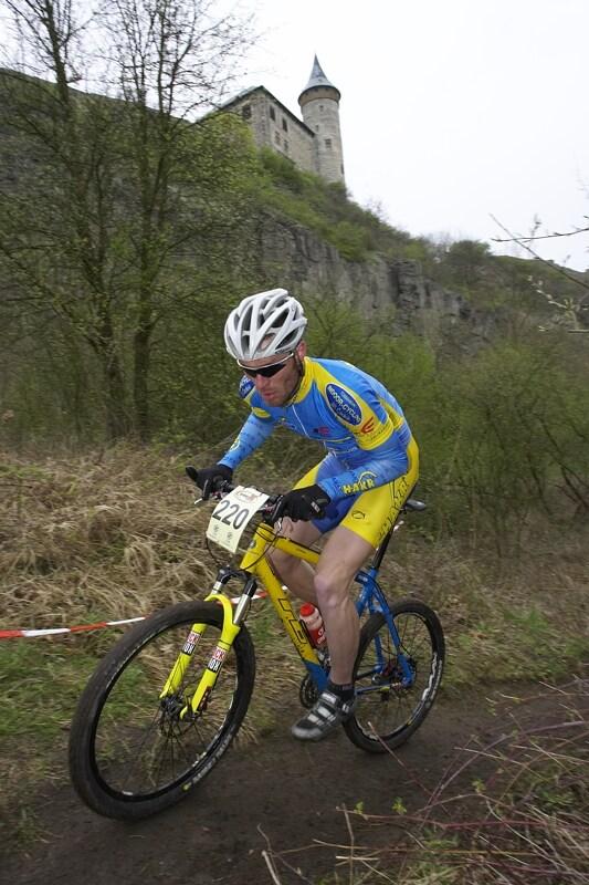 �P XC #1 Pardubice 2008 - Milan Fajt - st��brn� hobby rider