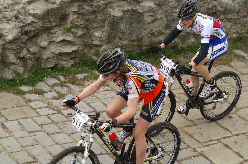 ČP XC #1 Pardubice 2008 - Daniel Veselý a Tomáš Paprstka