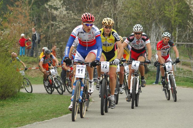 ČP XC #1 Pardubice 2008 - start elity