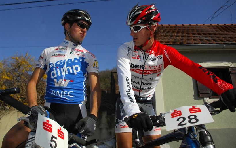 XC C1 Langenlois 08 - Jan Škarnitzl a Jirka Novák
