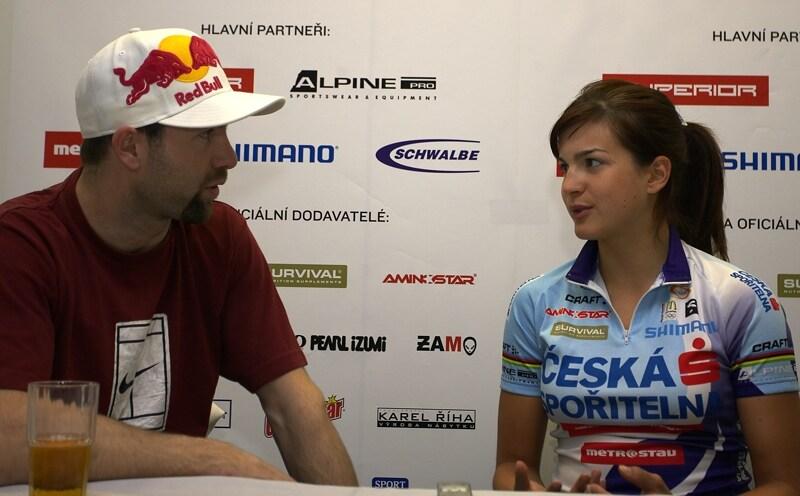 Česká spořitelna MTB 2008 - rozhovor pro deník Sport vedl Aleš Valenta