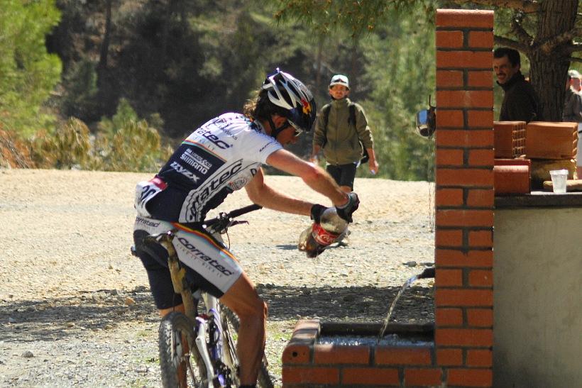 SP XCM #1 Manavgat 2008 - Stauder staví pro količku