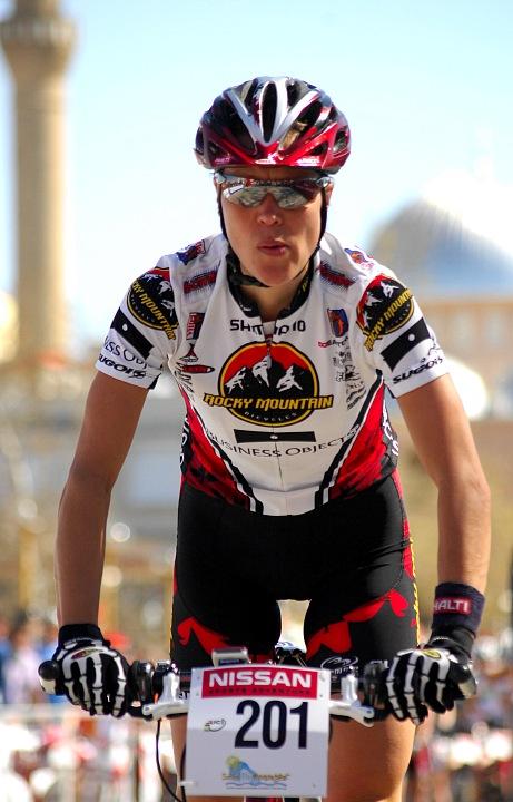 SP XCM #1 Manavgat 2008 - Pia Sundstedt vítězí