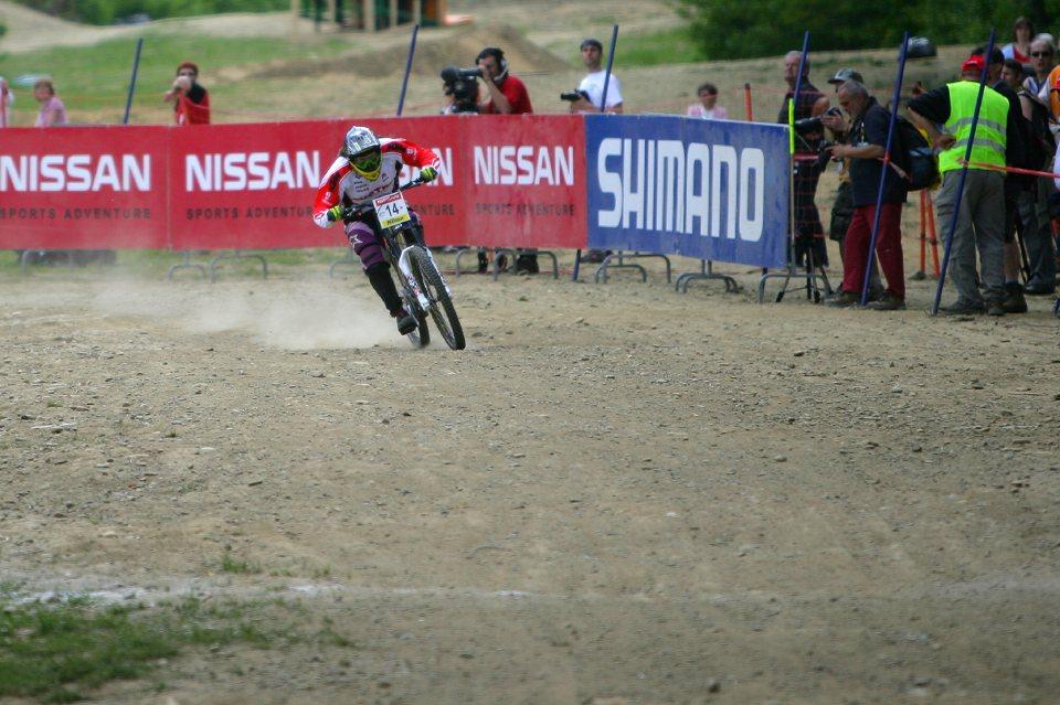 SP DH #1 Maribor 2008 Petra Bernhard