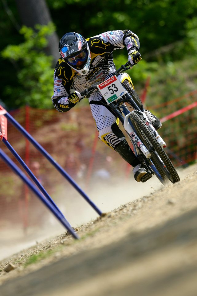 SP DH #1 Maribor 2008 Mathias Haas