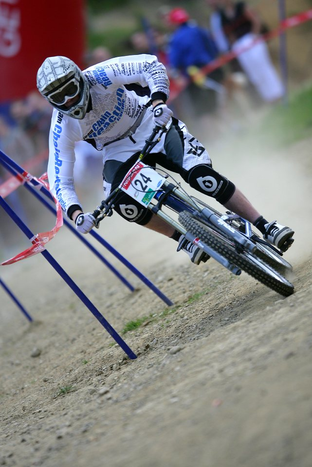 SP DH #1 Maribor 2008 Matthew Simmonds