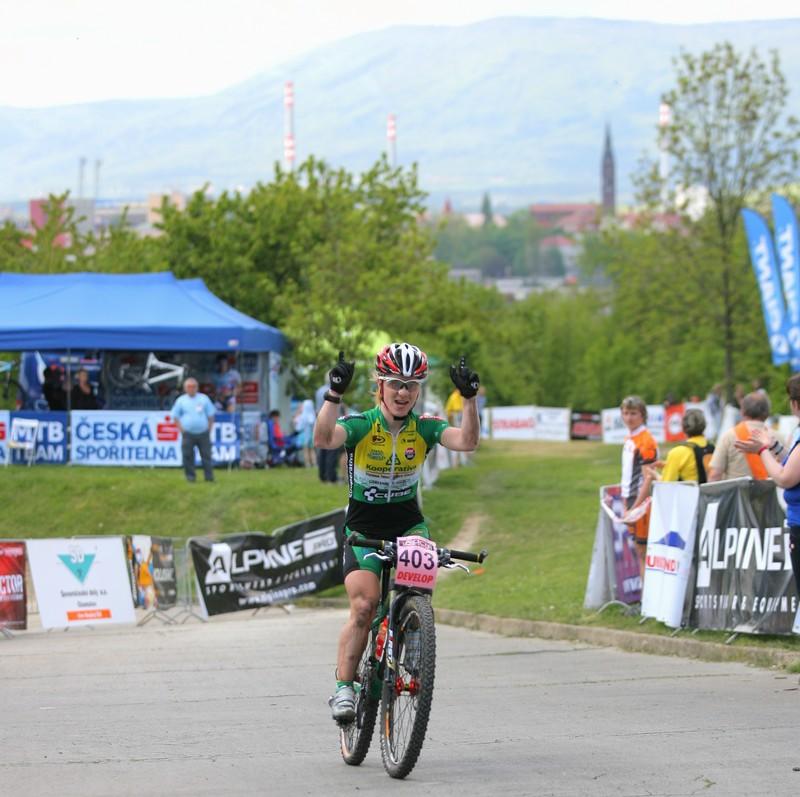RockMachine XC Cup - 2. závod 8.5.2008 - Radost Pavly Havlíkové