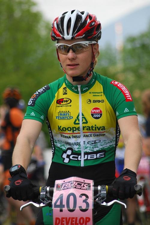 Český pohár XC Teplice, 8.5.2008 - Pavla Havlíková