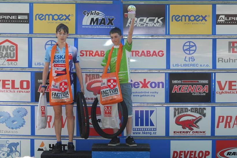 Český pohár XC Teplice, 8.5.2008 - žáci