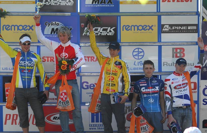Český pohár XC Teplice, 8.5.2008 - muži Open