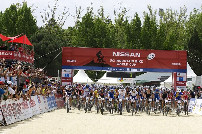 Nissan UCI MTB World Cup XC #3 - Madrid 4.5.'08 - start mužů
