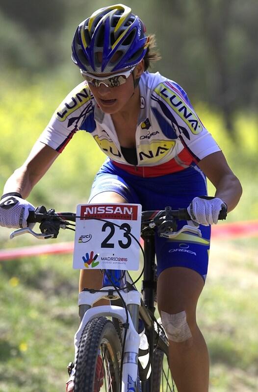 Nissan UCI MTB World Cup XC #3 - Madrid 4.5.'08 - Kateřina Nash