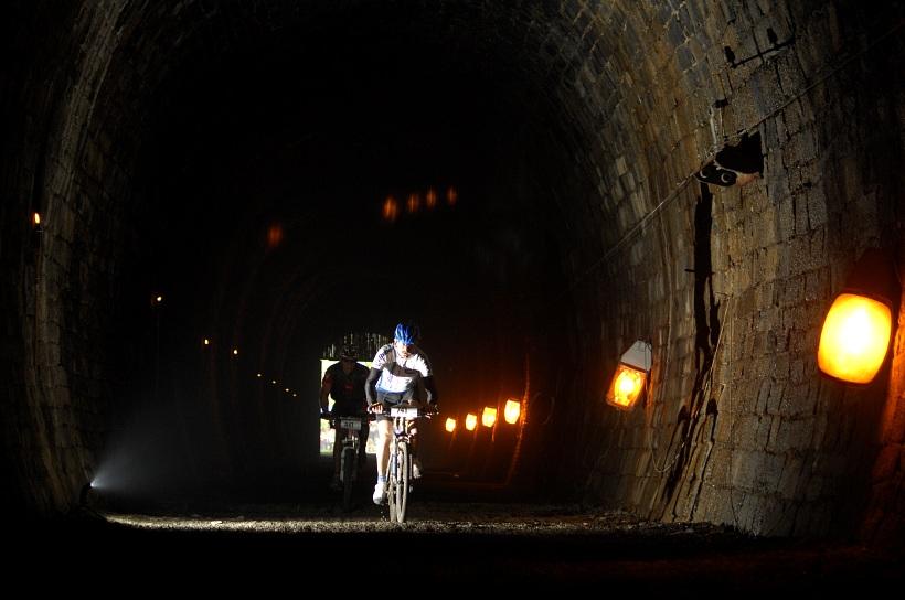 Author �ela Maraton 2008 - b�val� �elezni�n� tunel