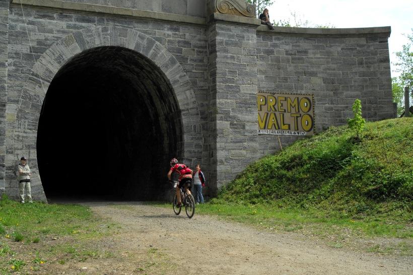 Author Šela Maraton 2008 - vjezd do tunelu