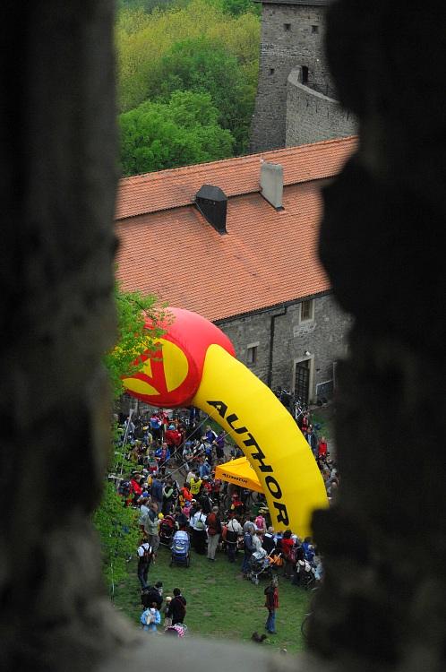 Author Šela Maraton 2008 - hrad Helfštýn