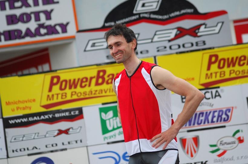 PowerBar MTB Posázavím 2008 - pravá cyklistická modelka