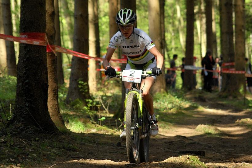 SP XC #2 2008 Offenburg - Irina Kalentieva v předposledním kole